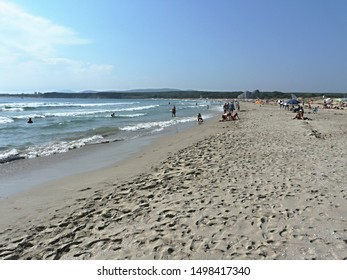 South beach view, Primorsko, Bulgaria - Shutterstock ID 1498417340