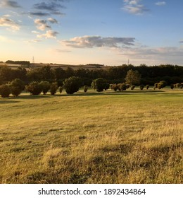 South Bedfordshire golf course grounds in Luton, Bedfordshire, England
