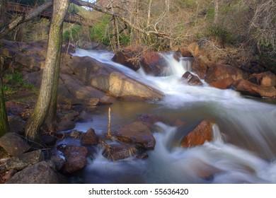 South Boulder Creek coming out of Eldorado Canyon State Park in Colorado