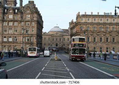 South Bridge in Edinburgh.