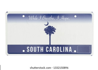 Palmetto Tree License Plate Tag Vanity Novelty Metal Car Truck South Carolina