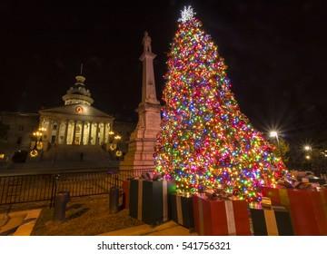 South Carolina State House Christmas