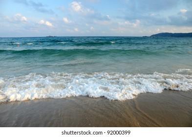South China Sea Beach, Hainan; Sanya, Yalong Bay, may 2011