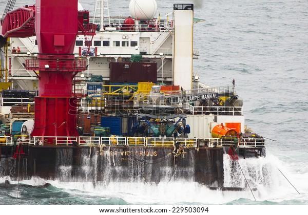 South China Sea Brunei January 22 Stock Photo (Edit Now) 229503094