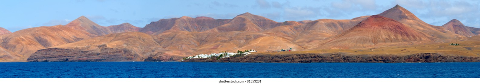 south coast of Lanzarote, in the Canary islands.