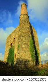 South Condurrow Tin Mining Engine House, Troon, Camborne, Cornwall UK