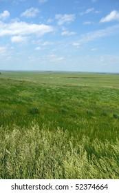 South Dakota Plains with Sky Vertical