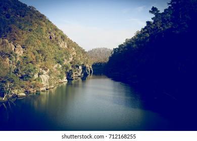South Esk River Launceston, Tasmania, Australia