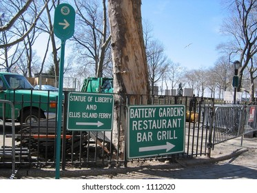 SOUTH FERRY SIGNS