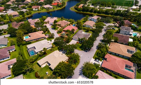 South Florida Urban Aerial Photography.
