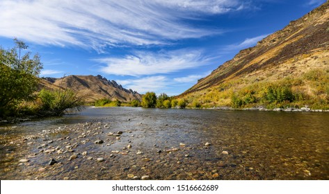 South Fork of the Boise River in September, Idaho