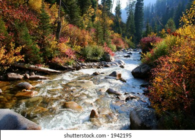 South fork of the Payette river, central Idaho
