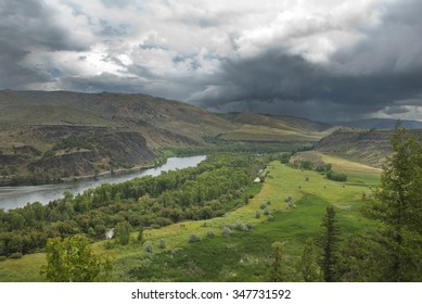 The South Fork of the Snake River.
