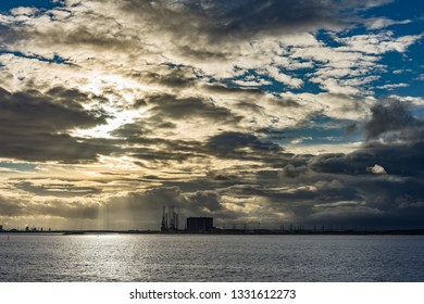 South Gare. Located on the north east coast of England.