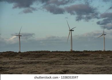 South Gare. Wind Farm.