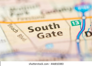 South Gate. California. USA