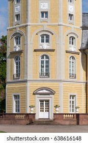 in a south german historical city on a sunny day in may detailed views on facades of marvelous building