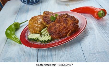 South India Food -Katharikka Cutlet ,Brinjal Cutlet, Masala Stuffed Brinjal Cutlet.