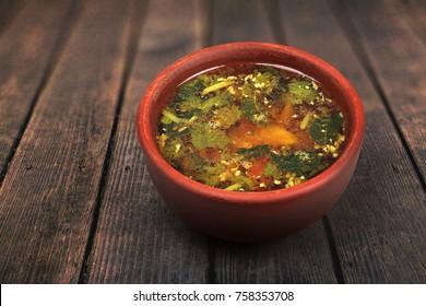 South Indian Made Rasam Recipe