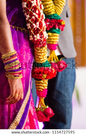 South Indian Wedding Reception Stock Photo Edit Now 1154727595