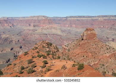 South Kaibab Trail, O'Neill Butte, Grand Canyon National Park, Arizona