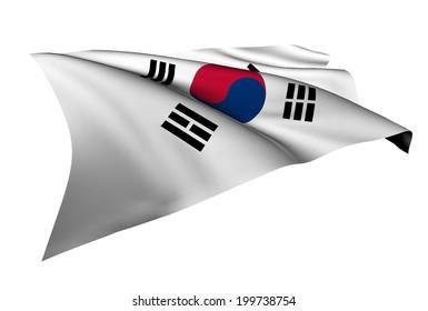 South Korea flag - collection no_5