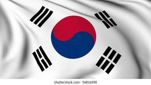 South Korea flag World flags Collection