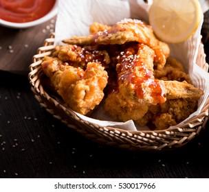 South Korean fried chicken, Asian women favorite