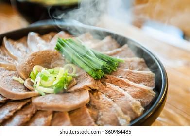 South Korea's beef steamed food