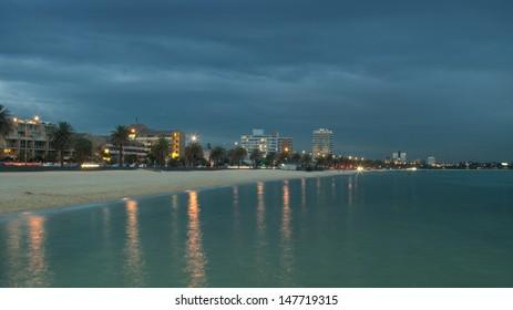 South Melbourne Beach in Australia