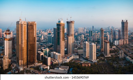 South Mumbai skyline- Real estate in Lower Parel, Worli