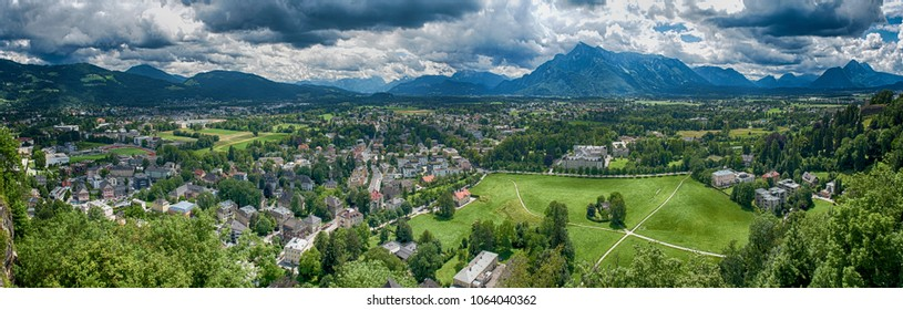 South part of Salzburg panorama
