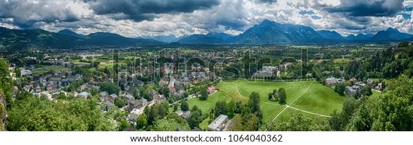 South part of Salzburg panorama
