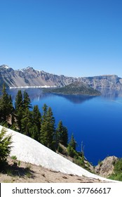 South Rim, Crater Lake National Park, Oregon
