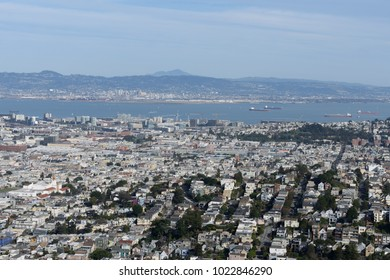 South San Francisco From Above