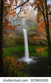 South Silver Falls Waterfall