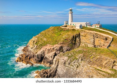 South Stack Lighthouse, Anglesey, Wales, UK