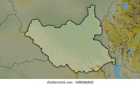 South Sudan Outline Images Stock Photos Vectors Shutterstock