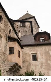 South Tyrol medieval castle