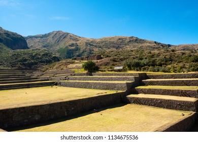 South valley inca ruins, near Cusco.