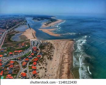 South view of the Praia do Suave Mar - Esposende, Portugal 2018
