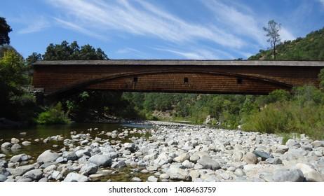 South Yuba River California Covered Bridge