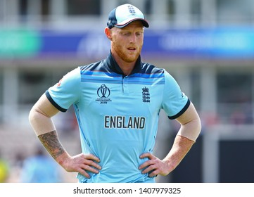 SOUTHAMPTON, ENGLAND. 25 MAY 2019: Ben Stokes of England during the England v Australia, ICC Cricket World Cup warm up match,