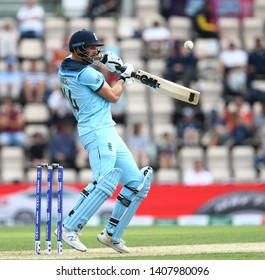 SOUTHAMPTON, ENGLAND. 25 MAY 2019: James Vince of England batting during the England v Australia, ICC Cricket World Cup warm up match,