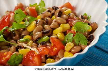Southern Black-eyed Pea Salad or Salsa