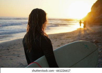 Southern California Surf & Sunset