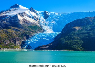 The southern coast of Chile presents a large number of fjords and fjord-like channels from the latitudes of Cape Horn