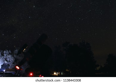 Southern deep sky astro photography with a telescope in the Australian outback