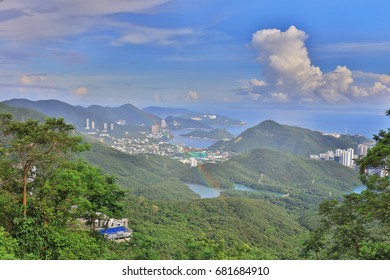 Southern District view from the peak hk