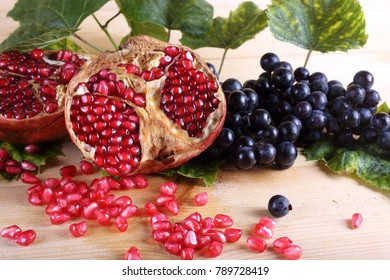 Southern fruits on table